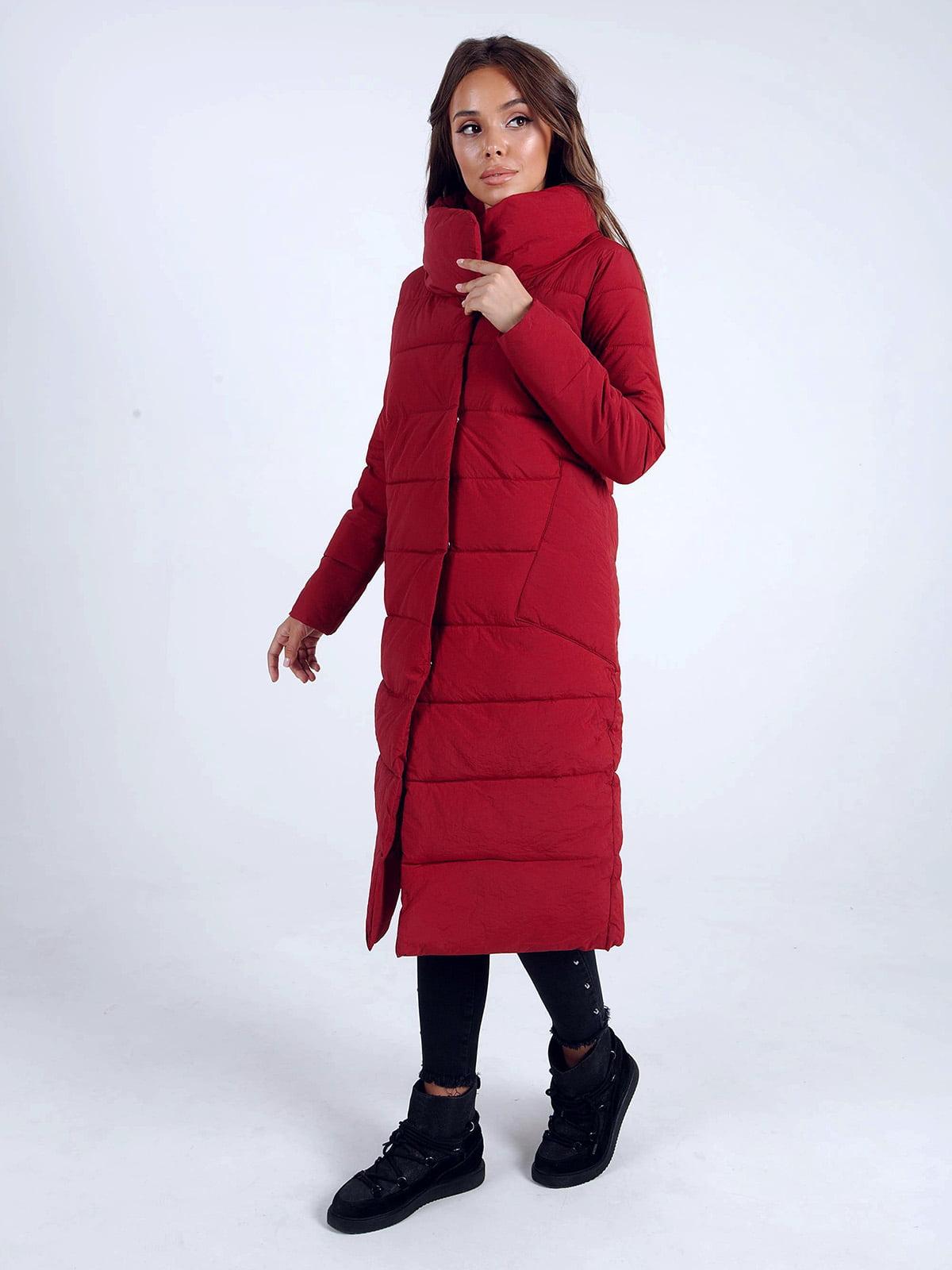 Куртка бордова | 4588272 | фото 2
