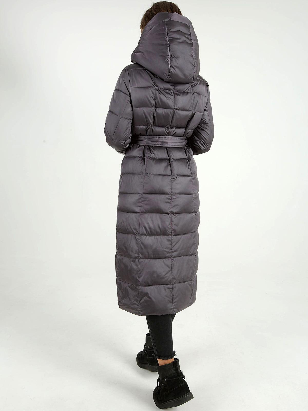 Куртка сіра | 4588289 | фото 3