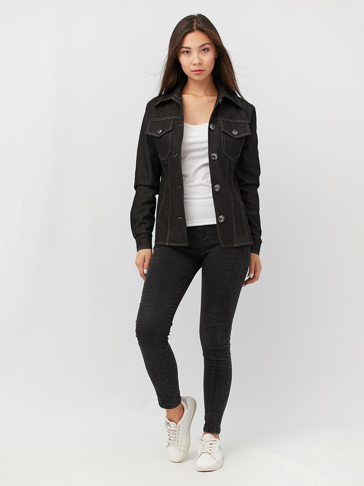 Куртка графитового цвета   4591218