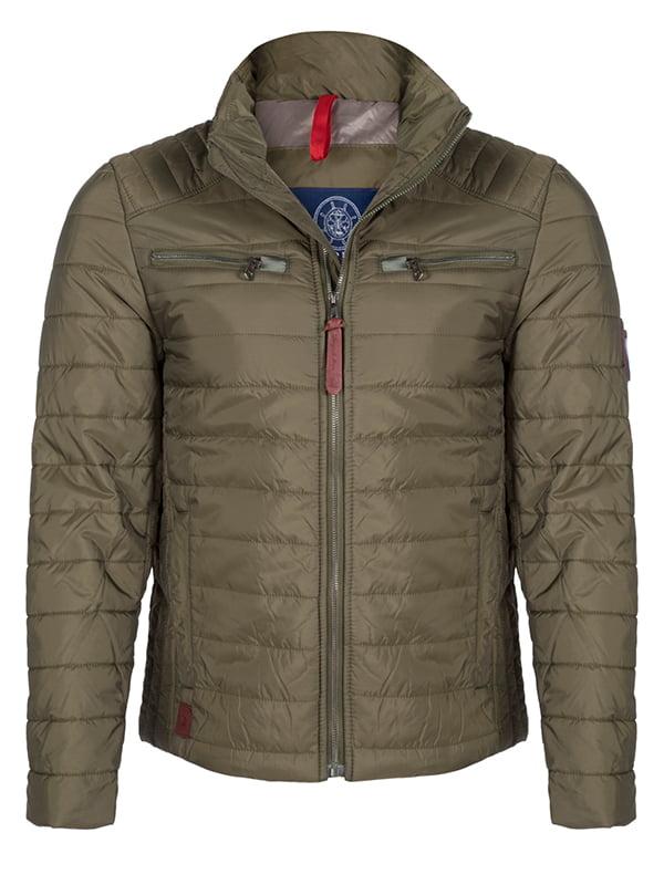 Куртка кольору хакі   4592762