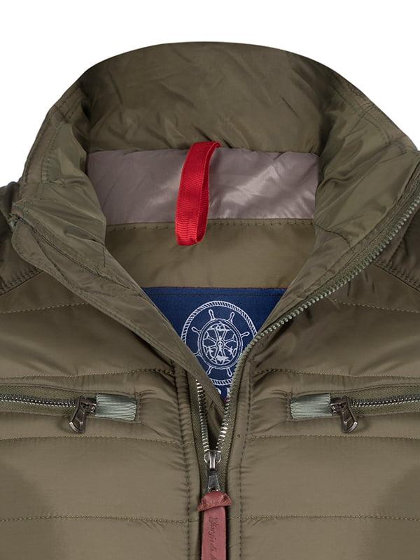 Куртка кольору хакі   4592762   фото 2