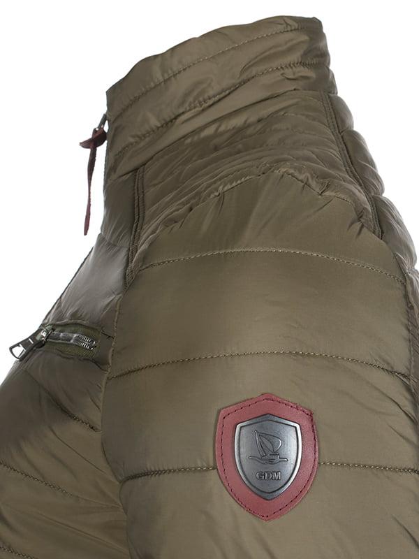 Куртка кольору хакі   4592762   фото 3