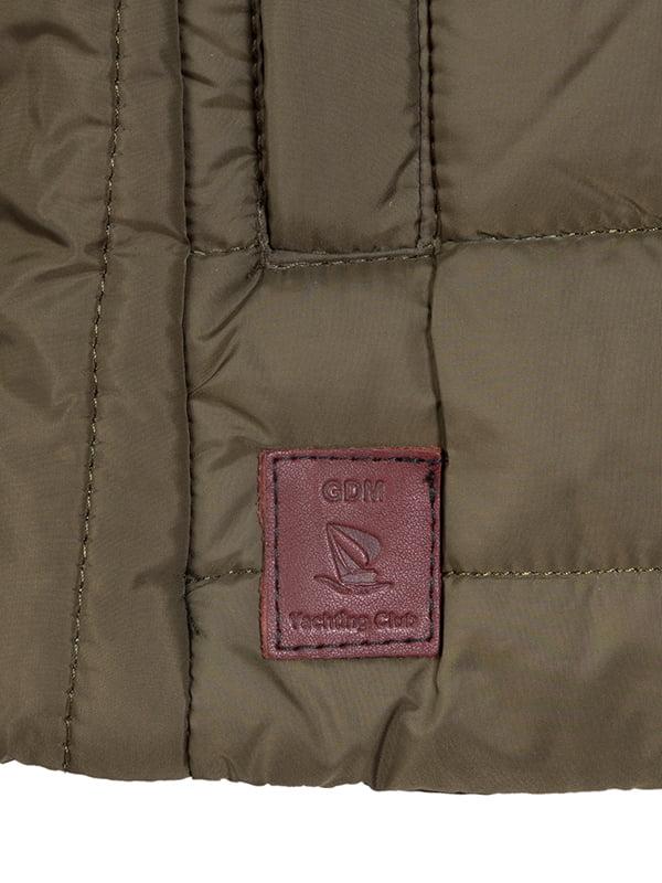 Куртка кольору хакі   4592762   фото 4