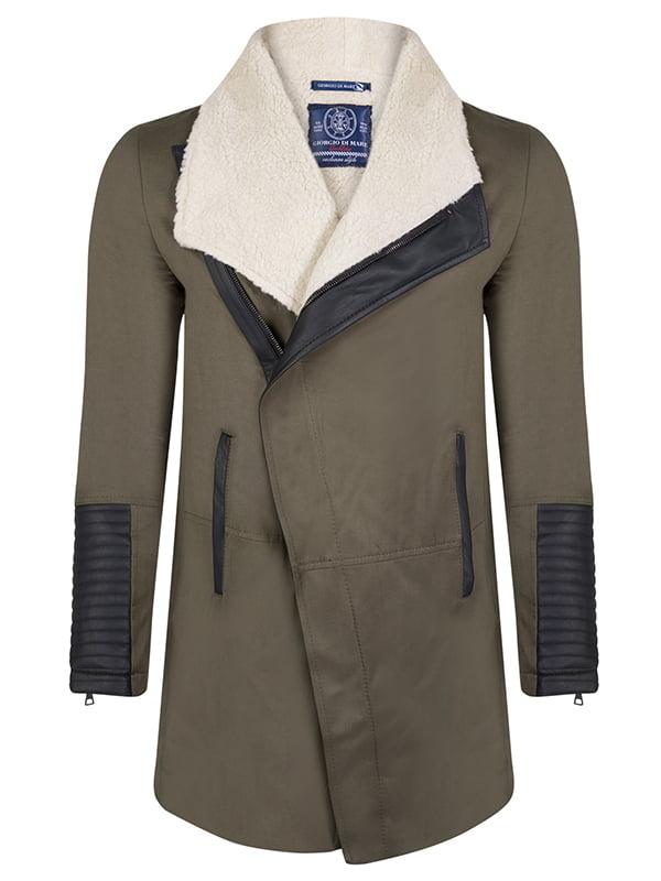 Пальто цвета хаки | 4592764