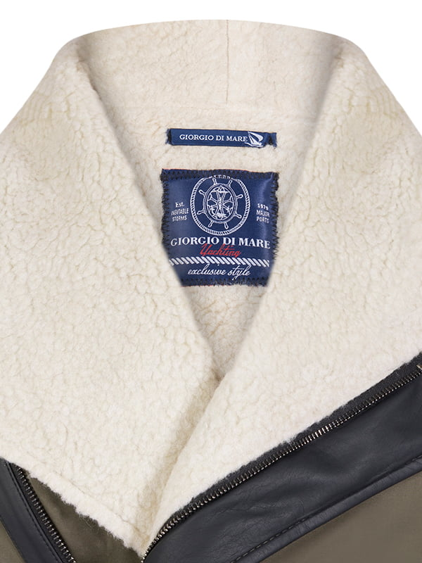 Пальто цвета хаки | 4592764 | фото 2