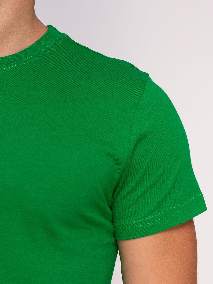 Футболка зелена | 4578631 | фото 3
