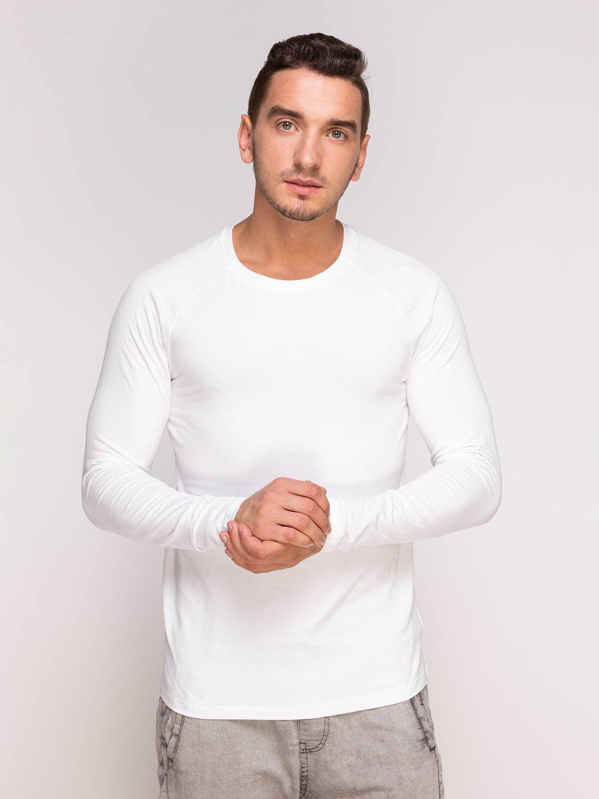 Лонгслів білий | 4577843