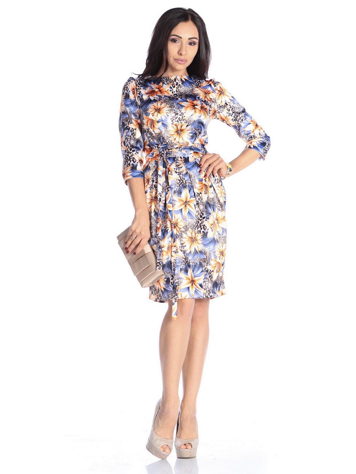 Сукня в квітковий принт | 4592270