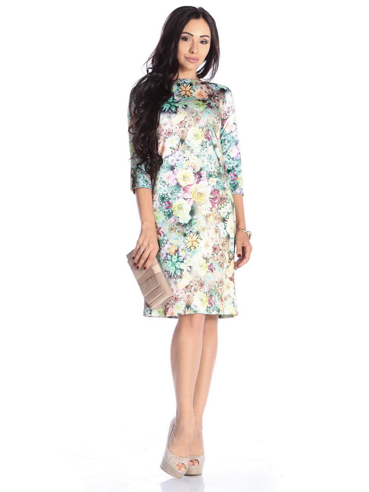 Сукня в квітковий принт | 4592282