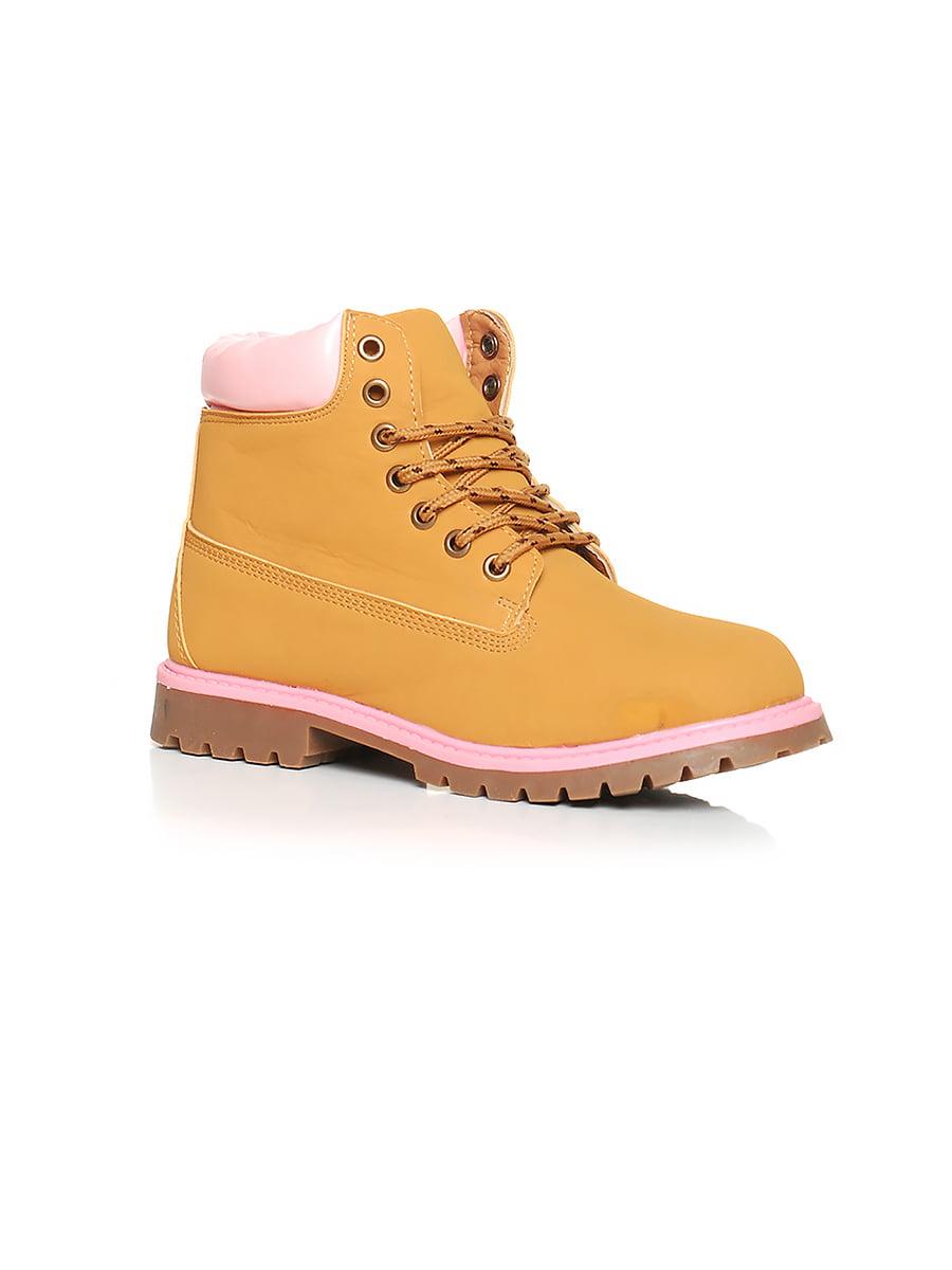 Ботинки рыжего цвета | 4593321