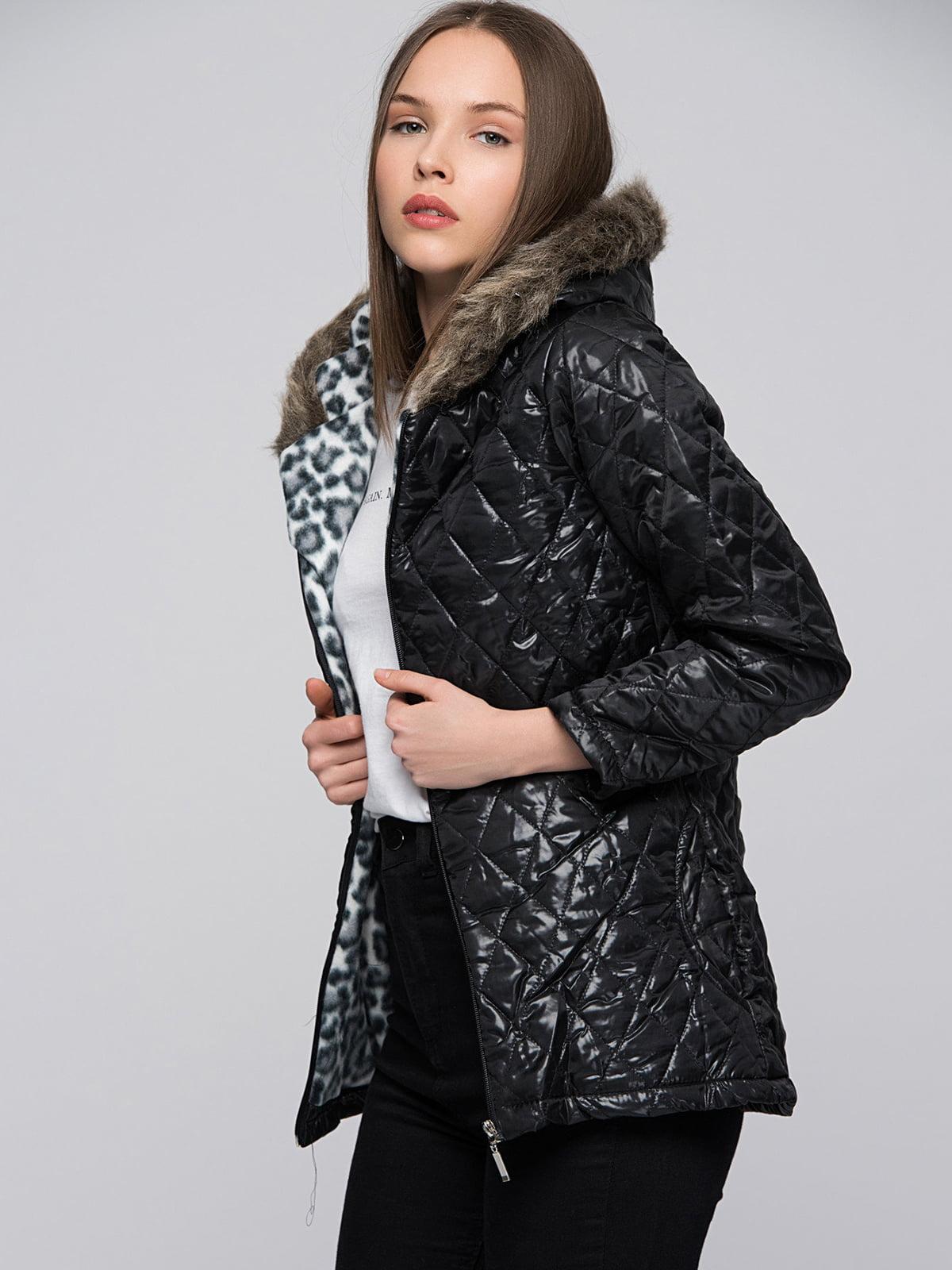 Куртка черная | 4596351 | фото 2