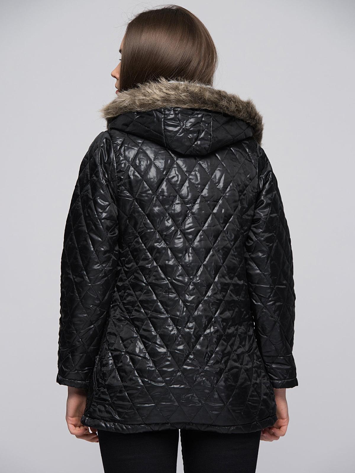 Куртка черная | 4596351 | фото 3
