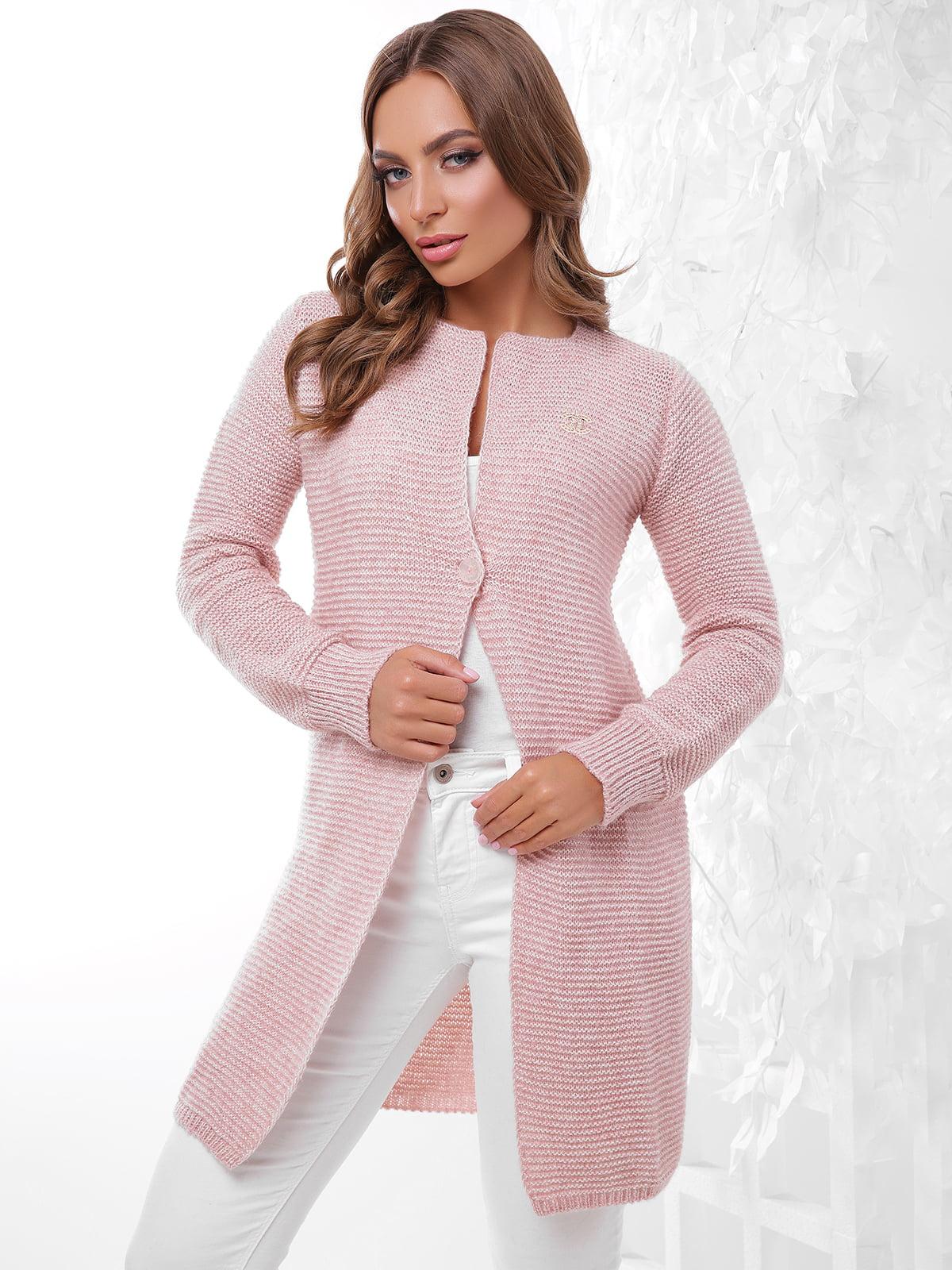 Кардиган рожевий | 4531623