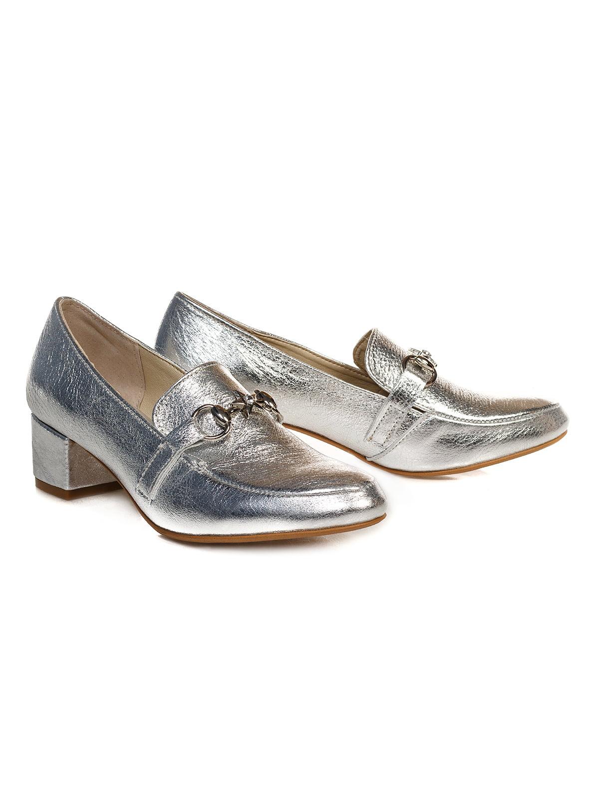 Туфли серебристые   4590793   фото 2