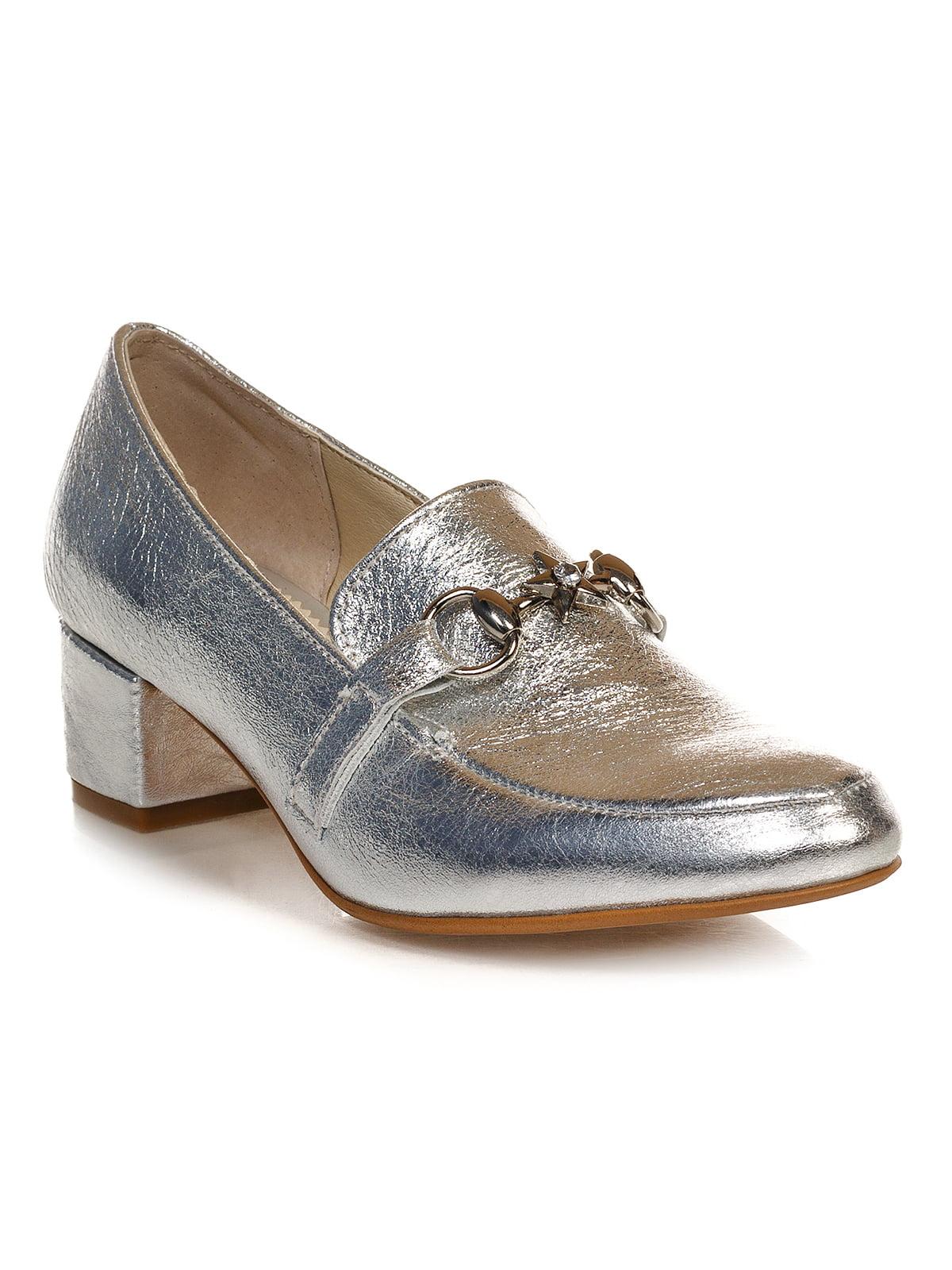 Туфлі сріблясті | 4590793