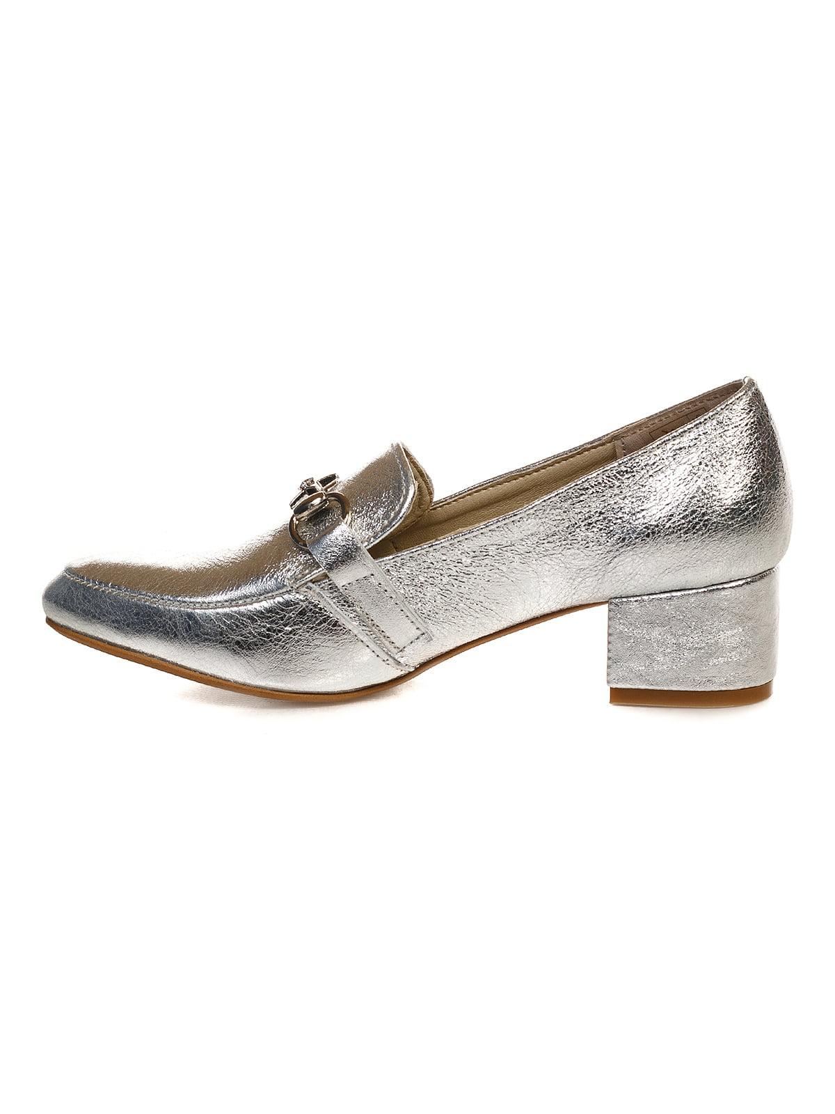 Туфли серебристые   4590793   фото 4