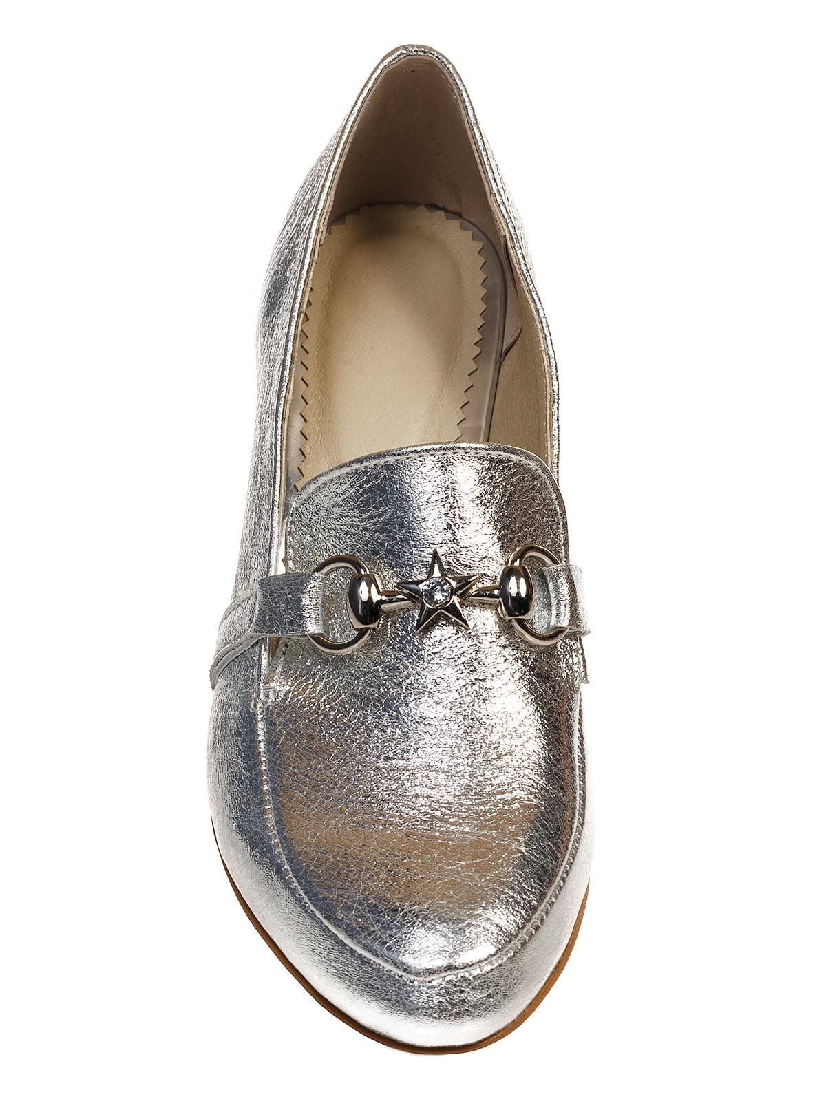 Туфли серебристые   4590793   фото 6