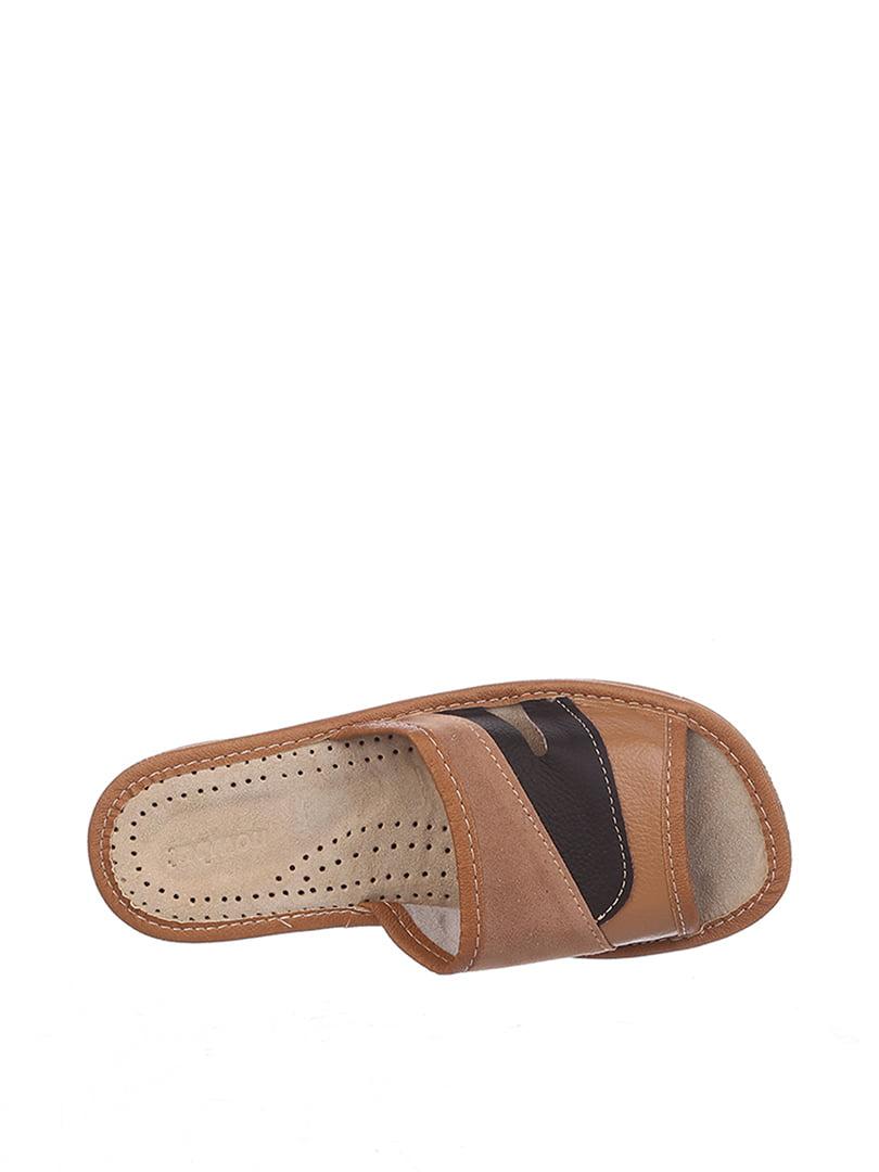 Тапочки коричневые | 4599436 | фото 2
