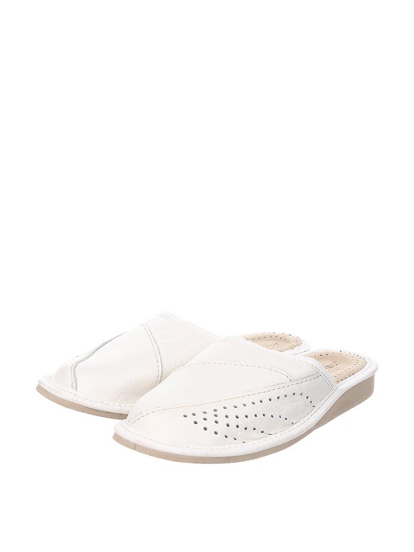 Тапочки белые | 4599496