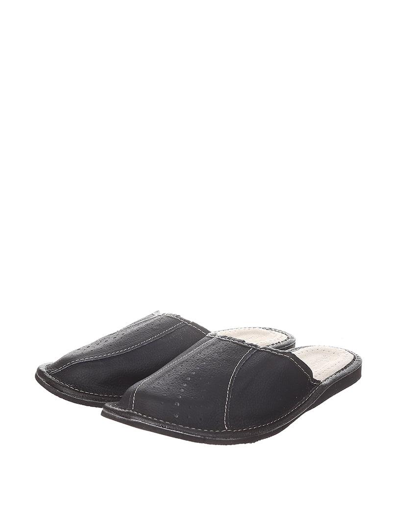 Тапочки черные | 4599519