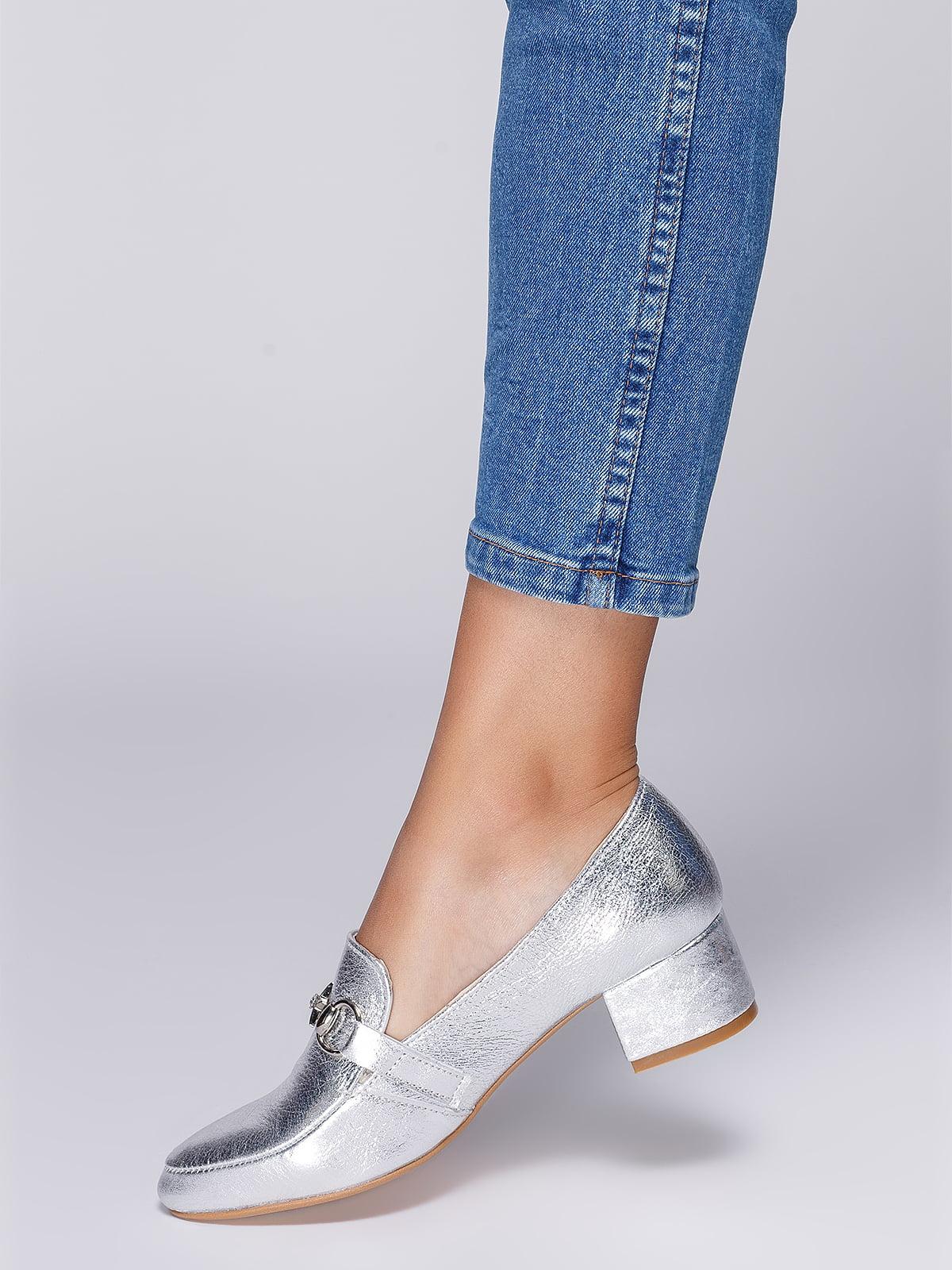 Туфли серебристые   4590793   фото 7