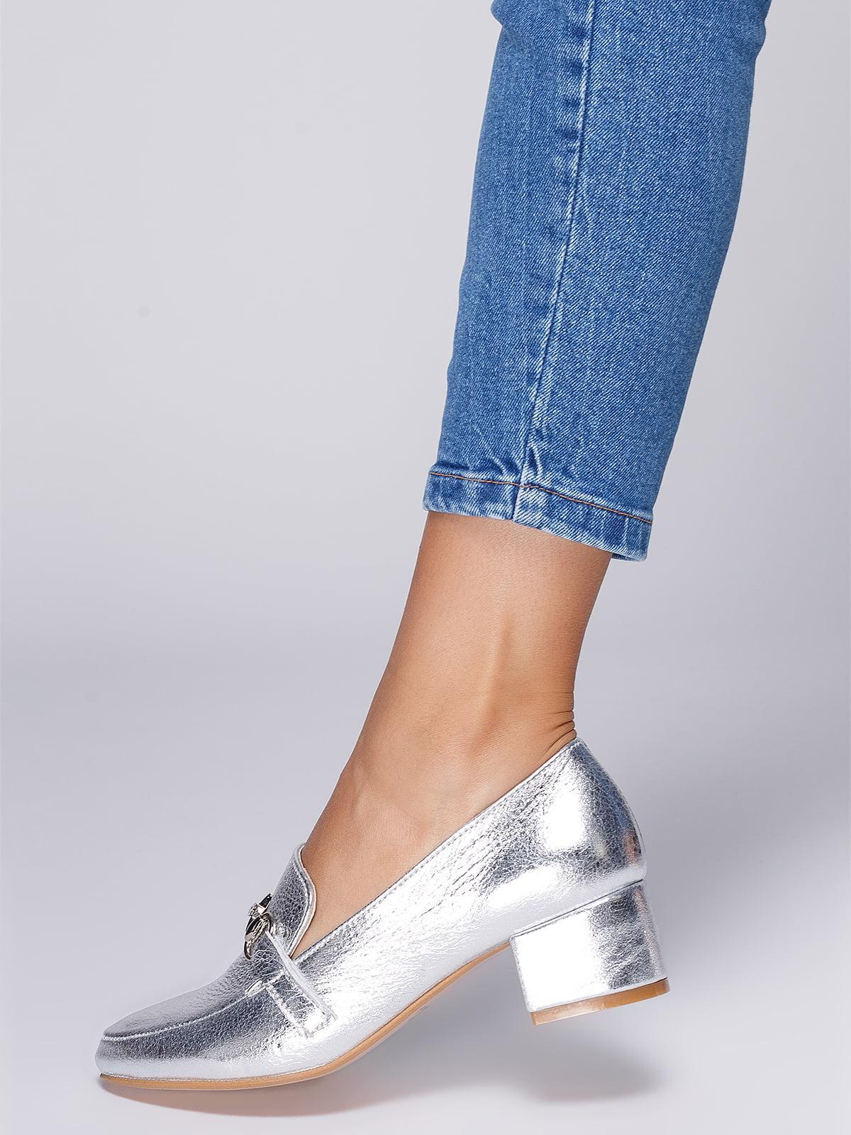 Туфли серебристые   4590793   фото 8