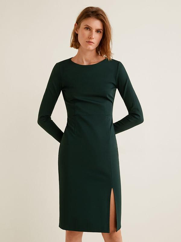 Сукня темно-зелена | 4575491