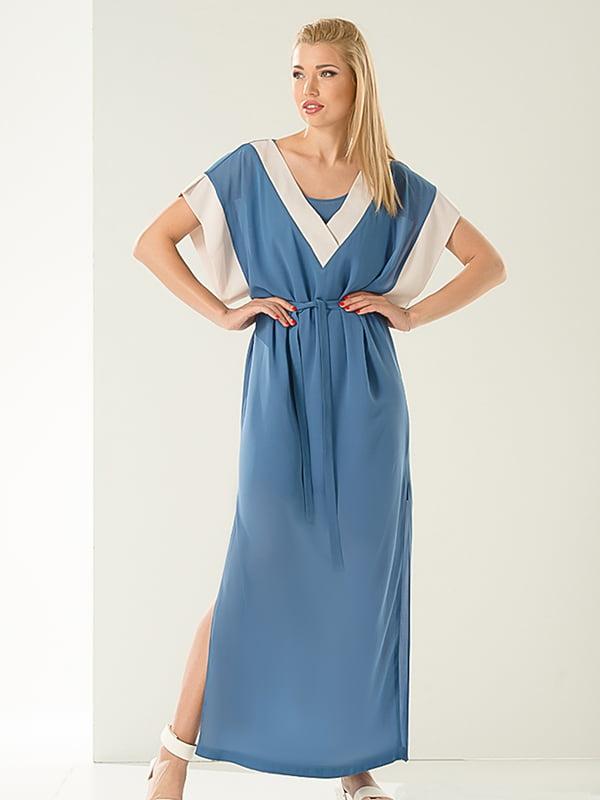 Платье голубое | 4224120