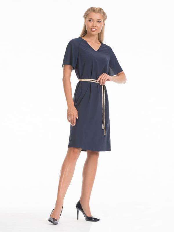 Сукня темно-синя | 4302432