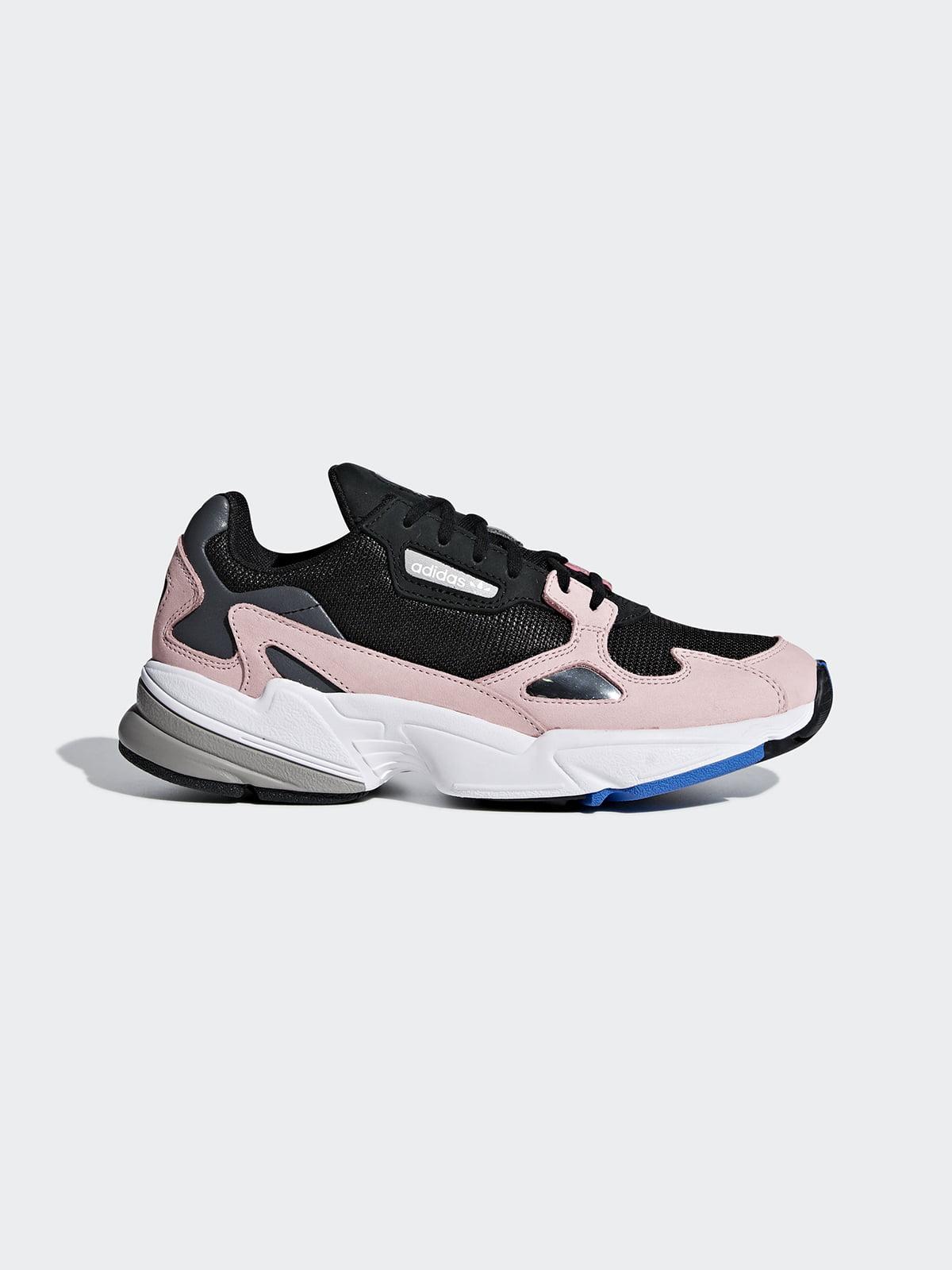 Кроссовки розово-черные | 4585585