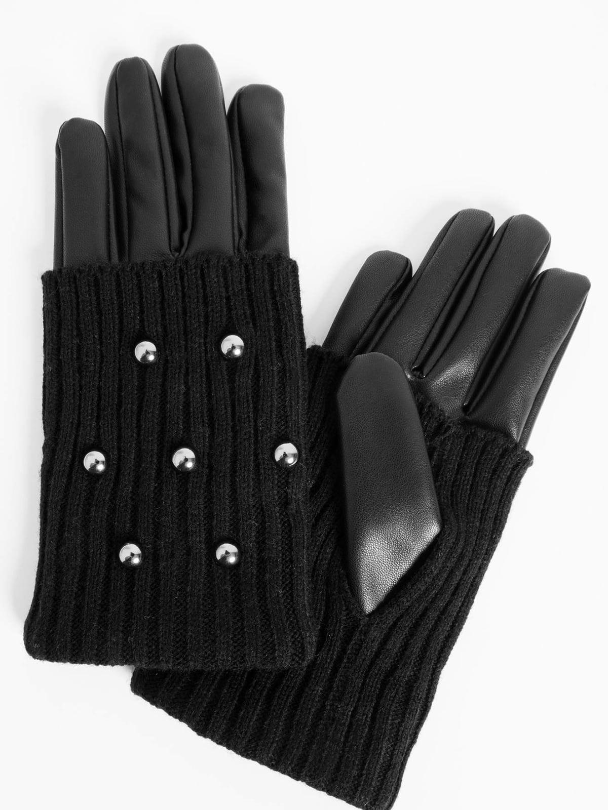 Перчатки черные | 4580504