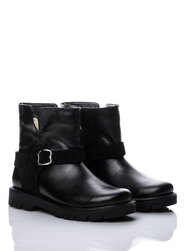 Ботинки черные   4603689
