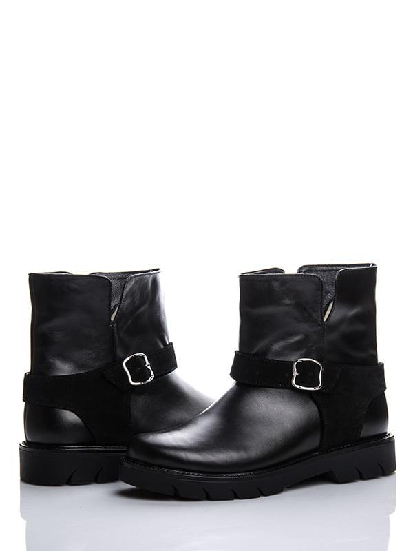 Ботинки черные   4603689   фото 2