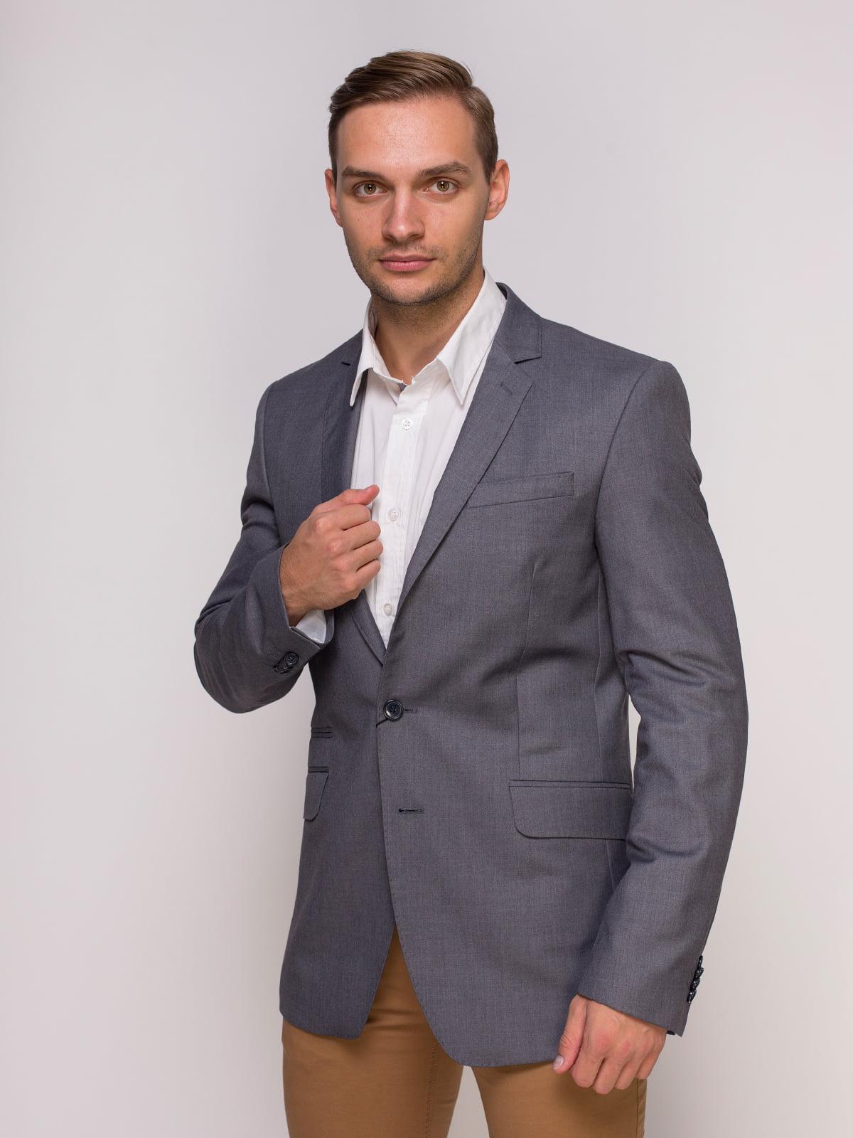 Пиджак серый | 4495446