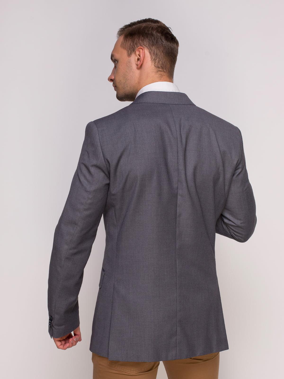 Пиджак серый | 4495446 | фото 2