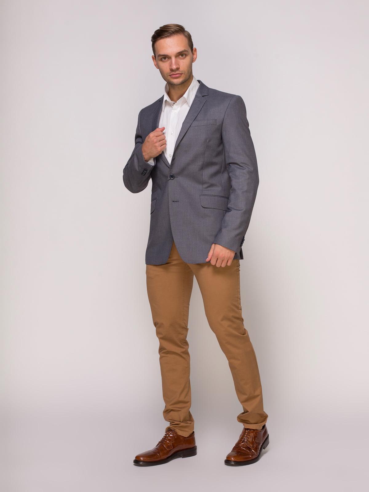 Пиджак серый | 4495446 | фото 3