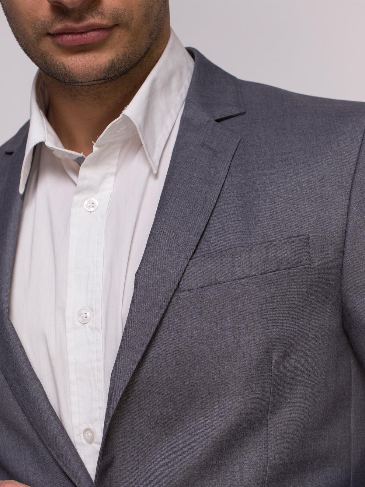 Пиджак серый | 4495446 | фото 4