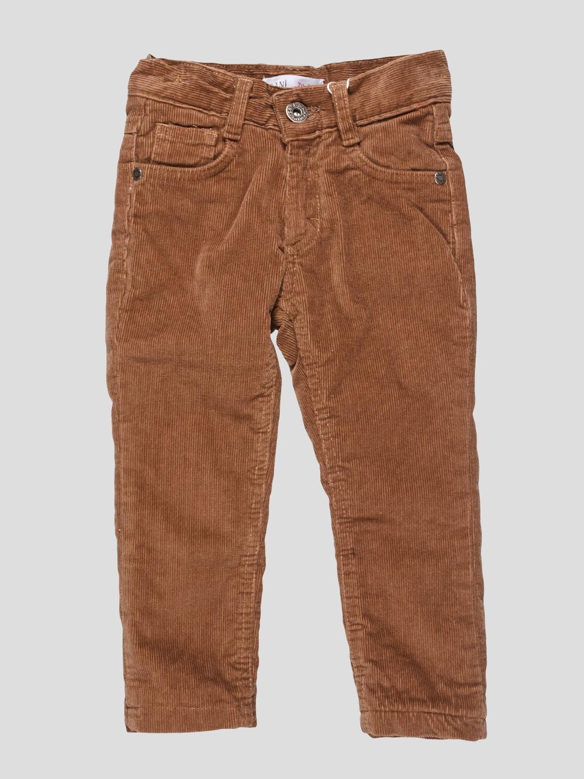 Брюки коричневые утепленные | 4590998