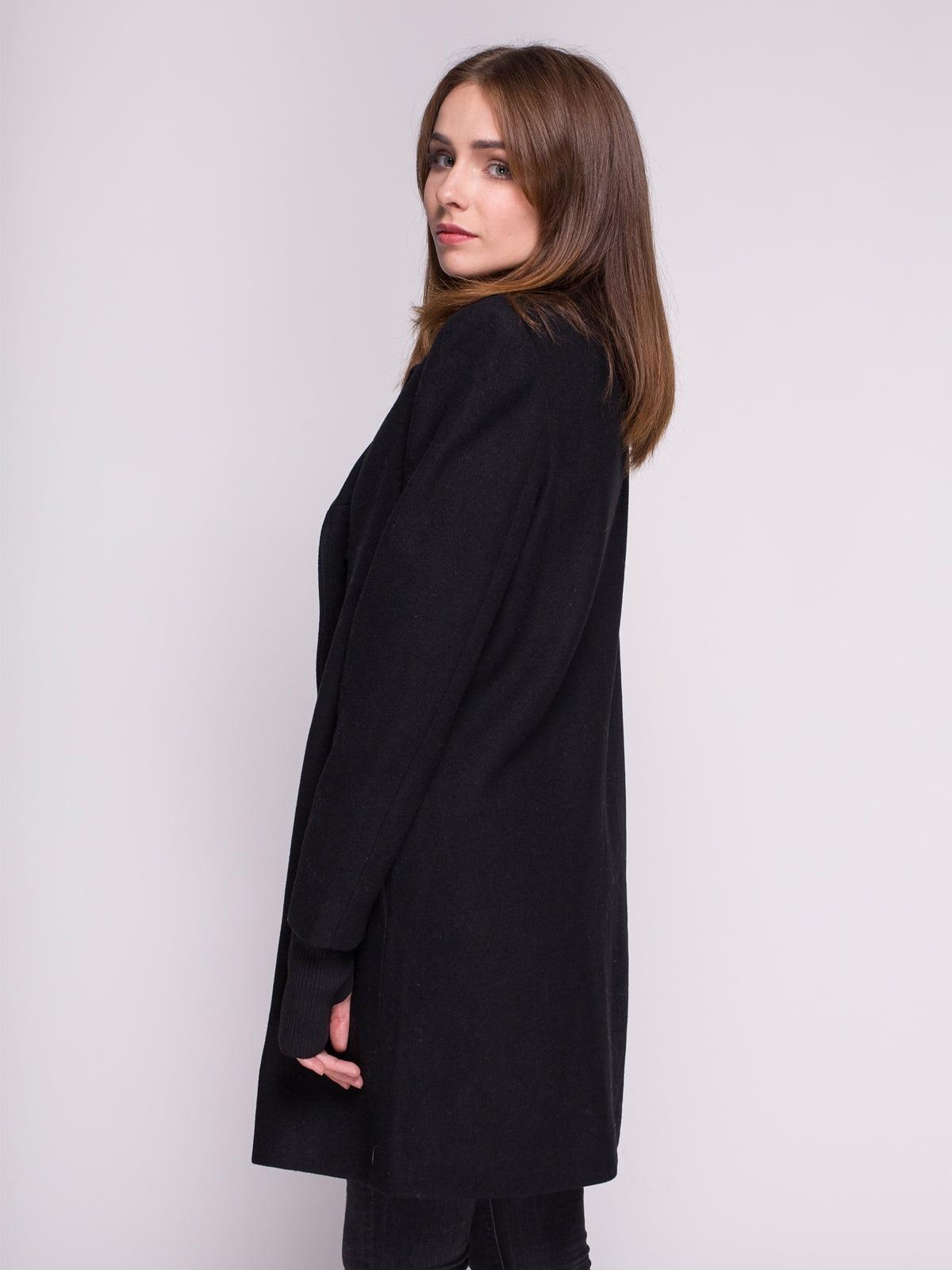 Пальто черное | 4456345 | фото 2