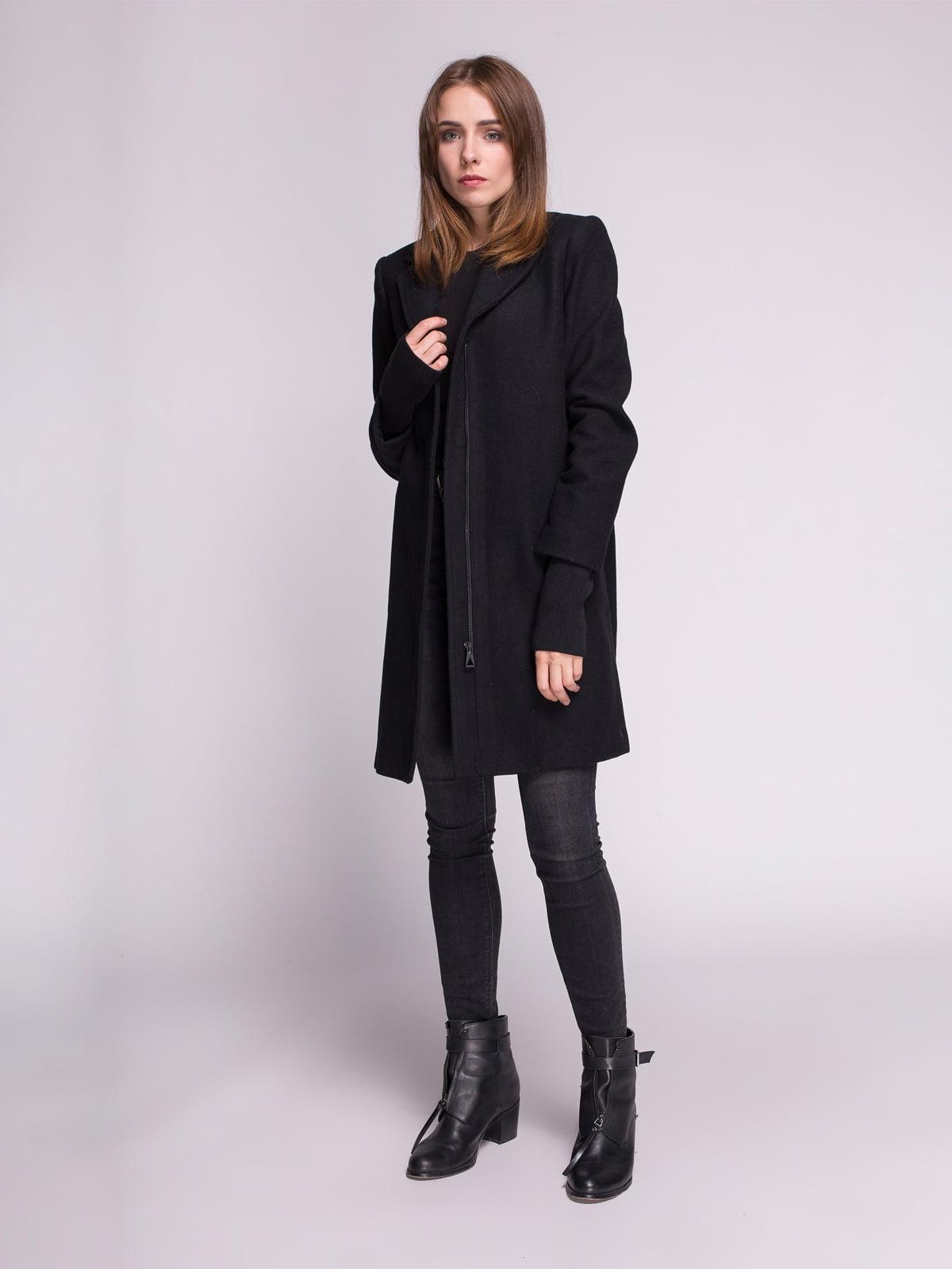 Пальто черное | 4456345 | фото 3