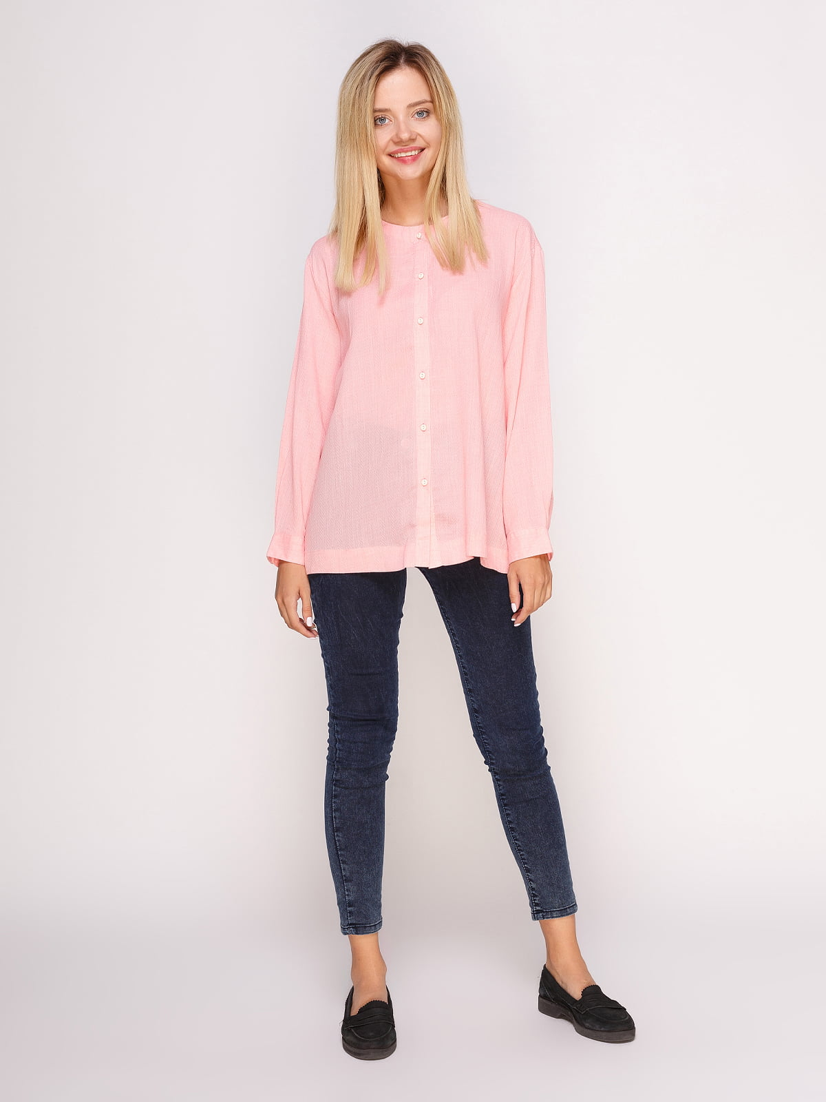 Рубашка розовая | 4495570 | фото 3