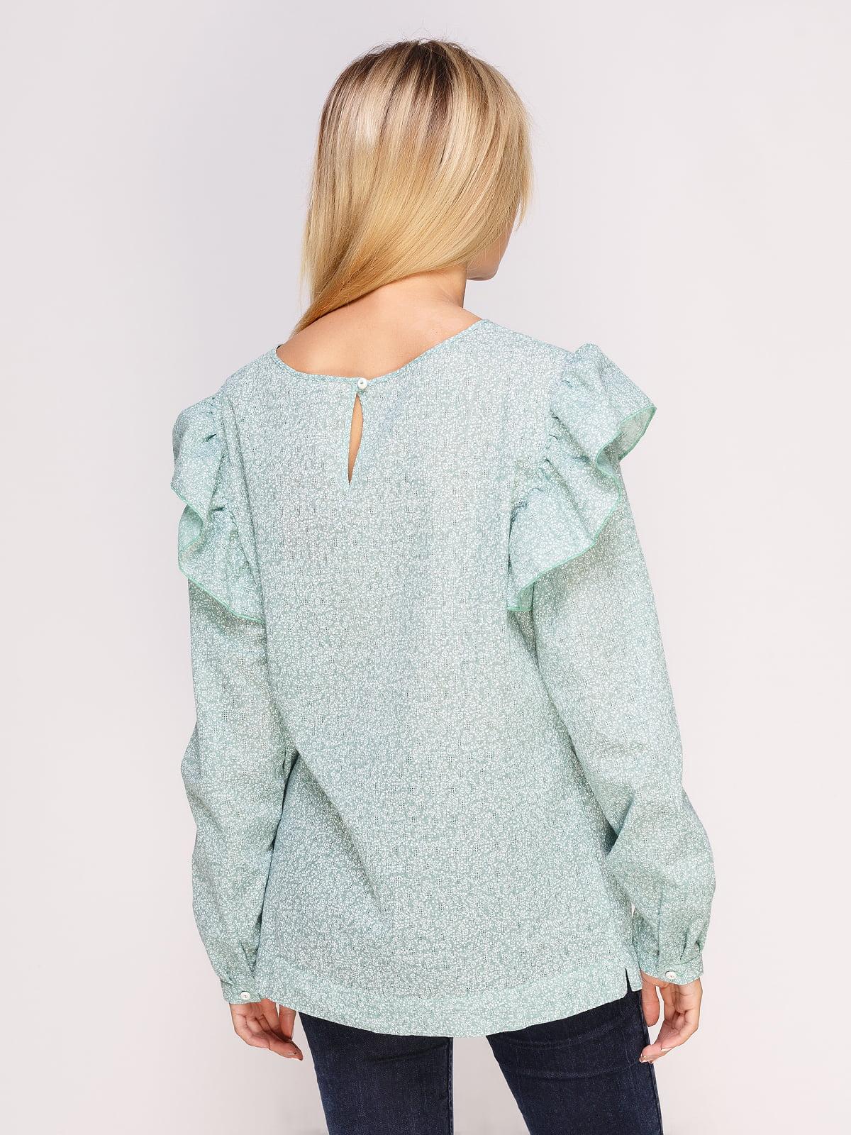 Блуза зеленая | 4495571 | фото 2