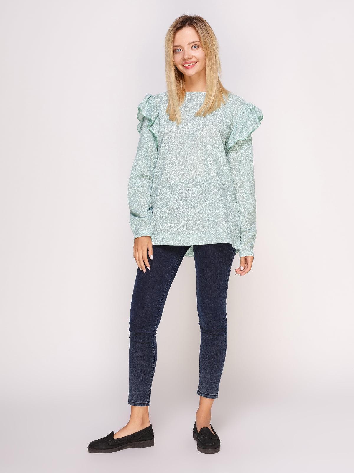Блуза зеленая | 4495571 | фото 3