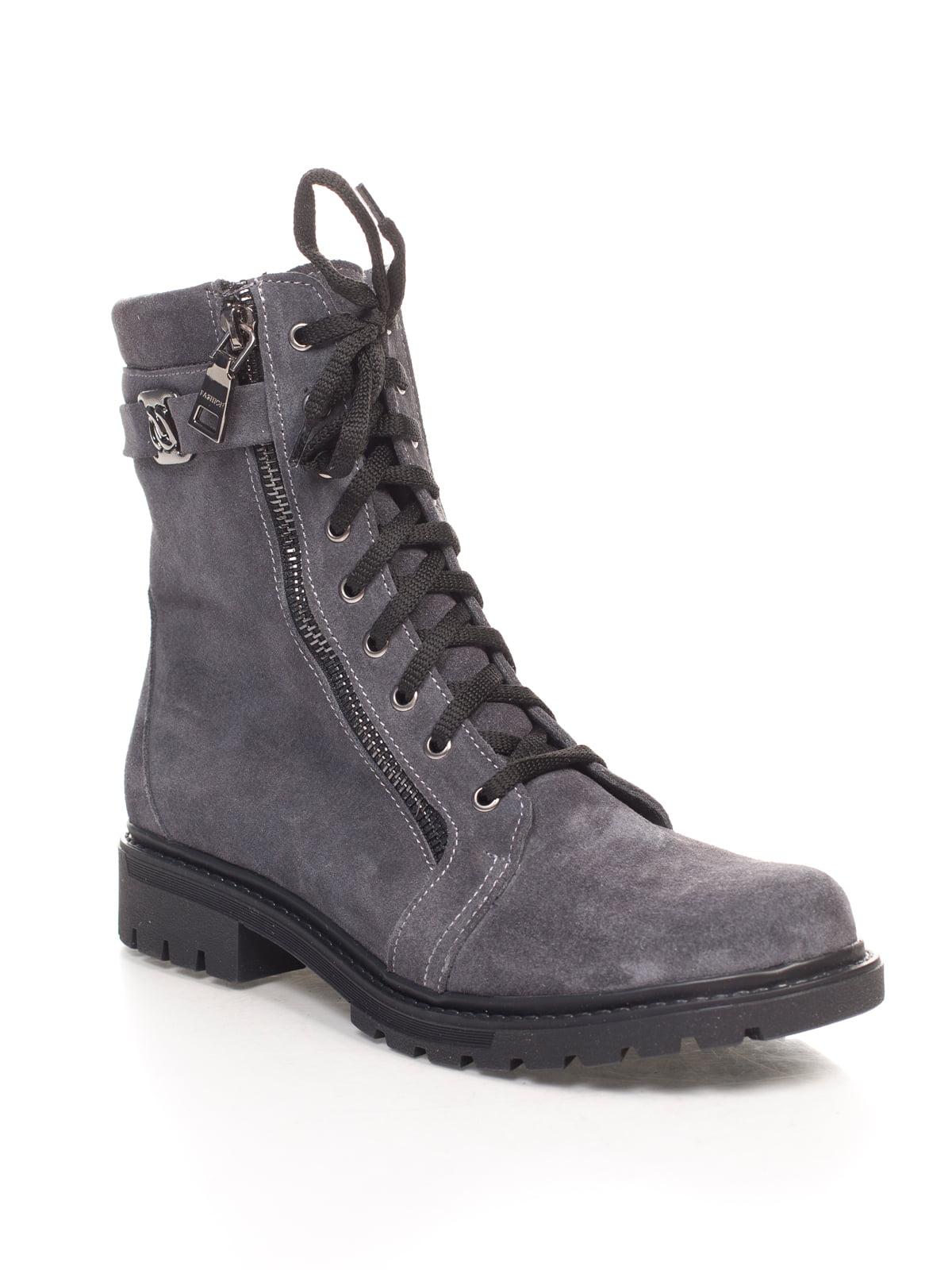 Ботинки серые | 4592827