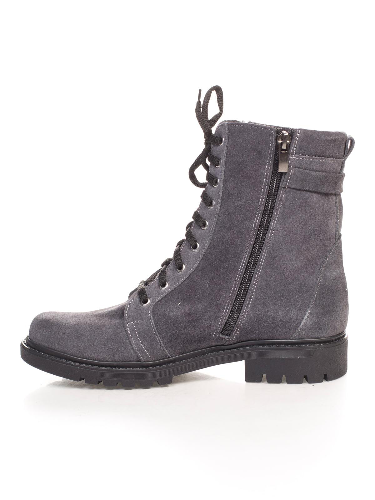 Ботинки серые | 4592827 | фото 2