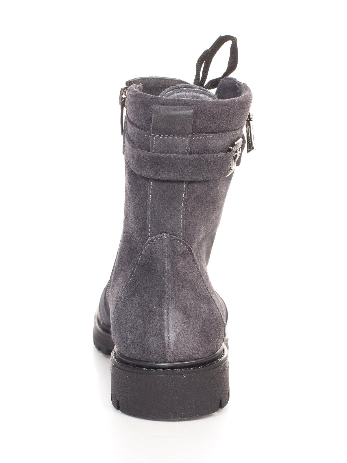 Ботинки серые | 4592827 | фото 3