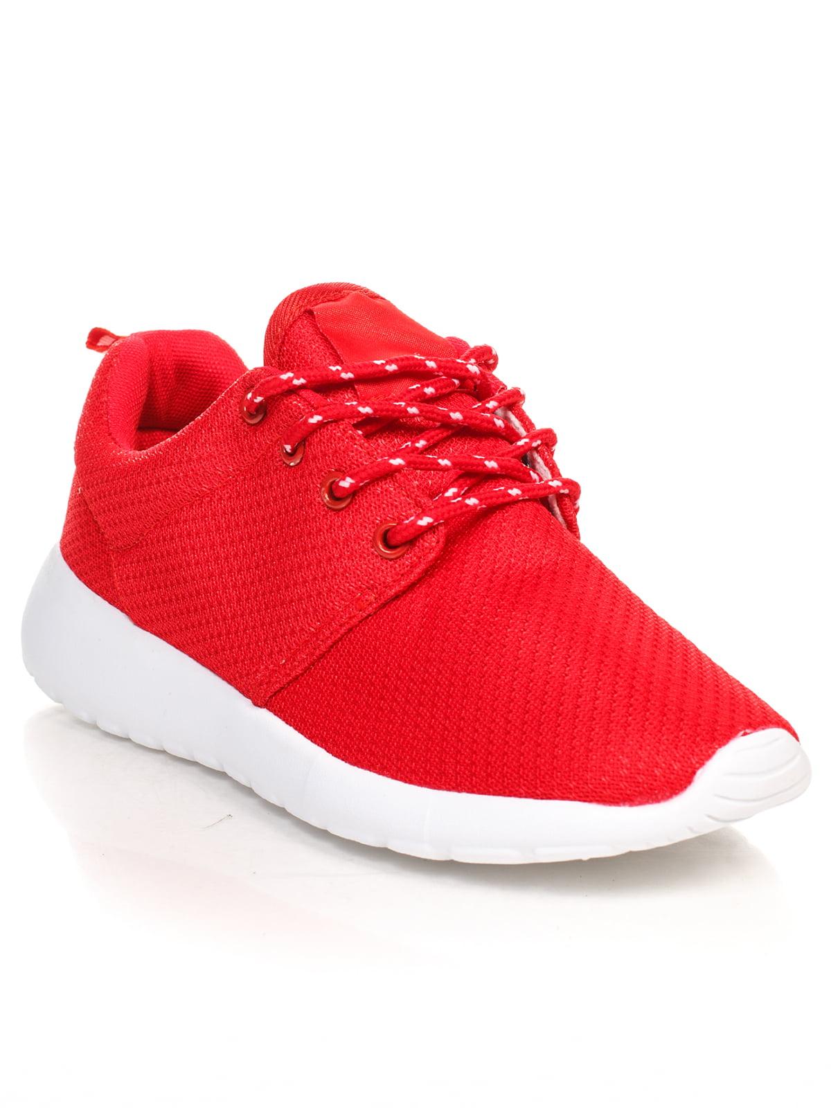 Кроссовки красные   4603162
