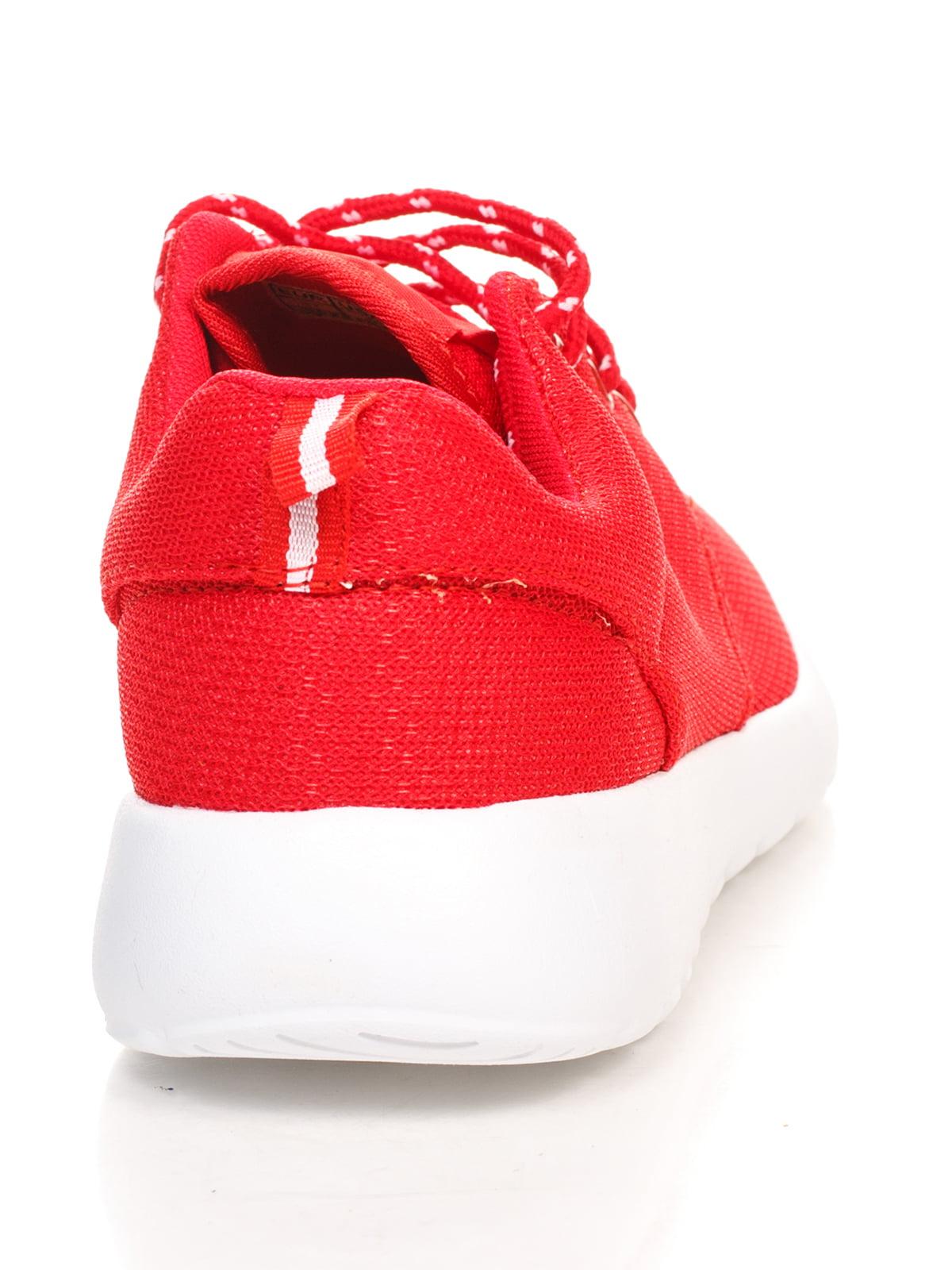 Кроссовки красные   4603162   фото 3