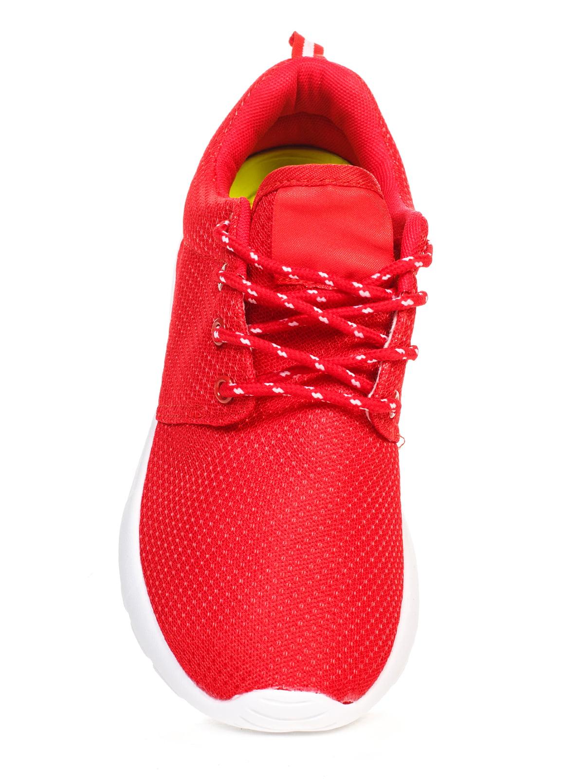 Кроссовки красные   4603162   фото 4