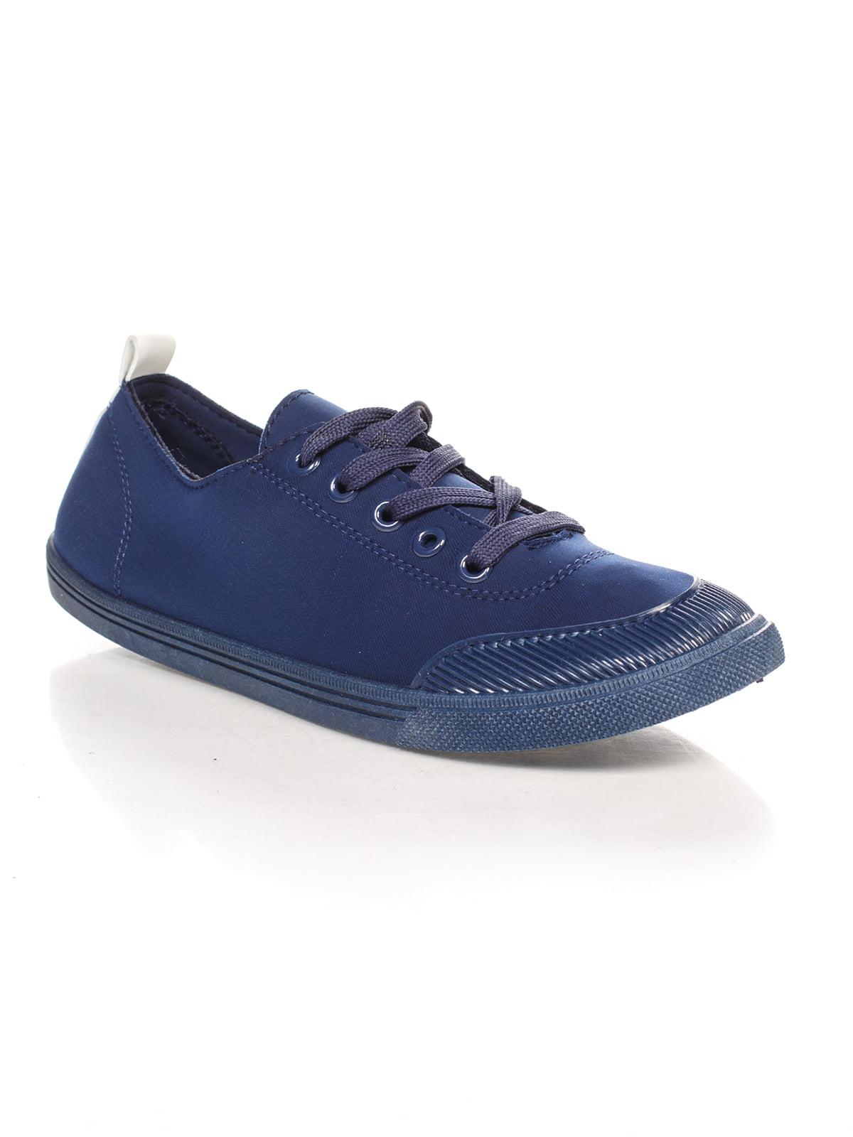 Кеды синие   4603076